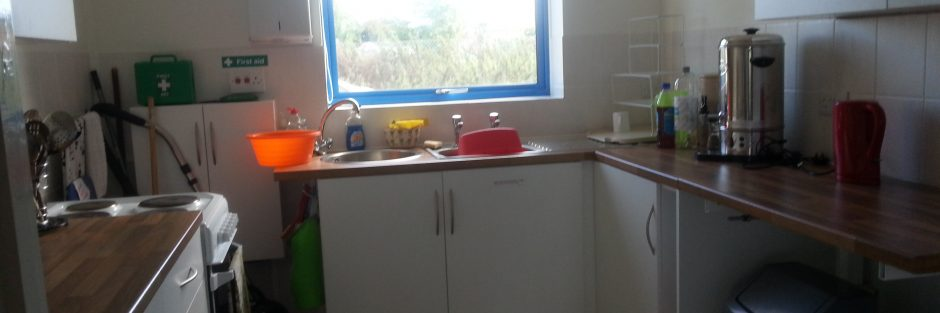 Girlguiding East Preston & Angmering hall kitchen