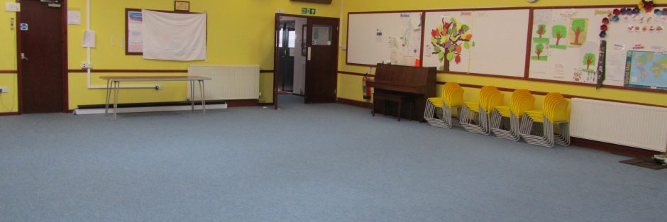 Girlguiding Rustington main hall