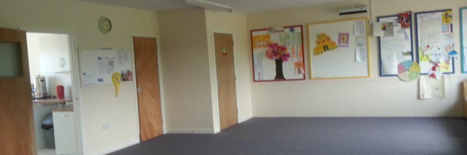 Girlguiding East Preston & Angmering carpeted main hall