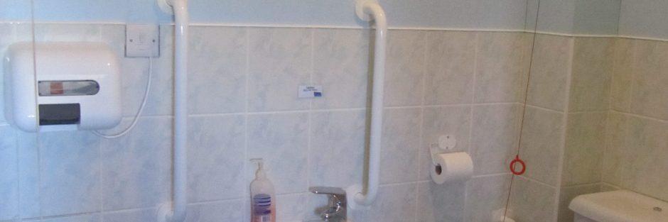 Girlguiding Rustington hall's disabled toilet facilities